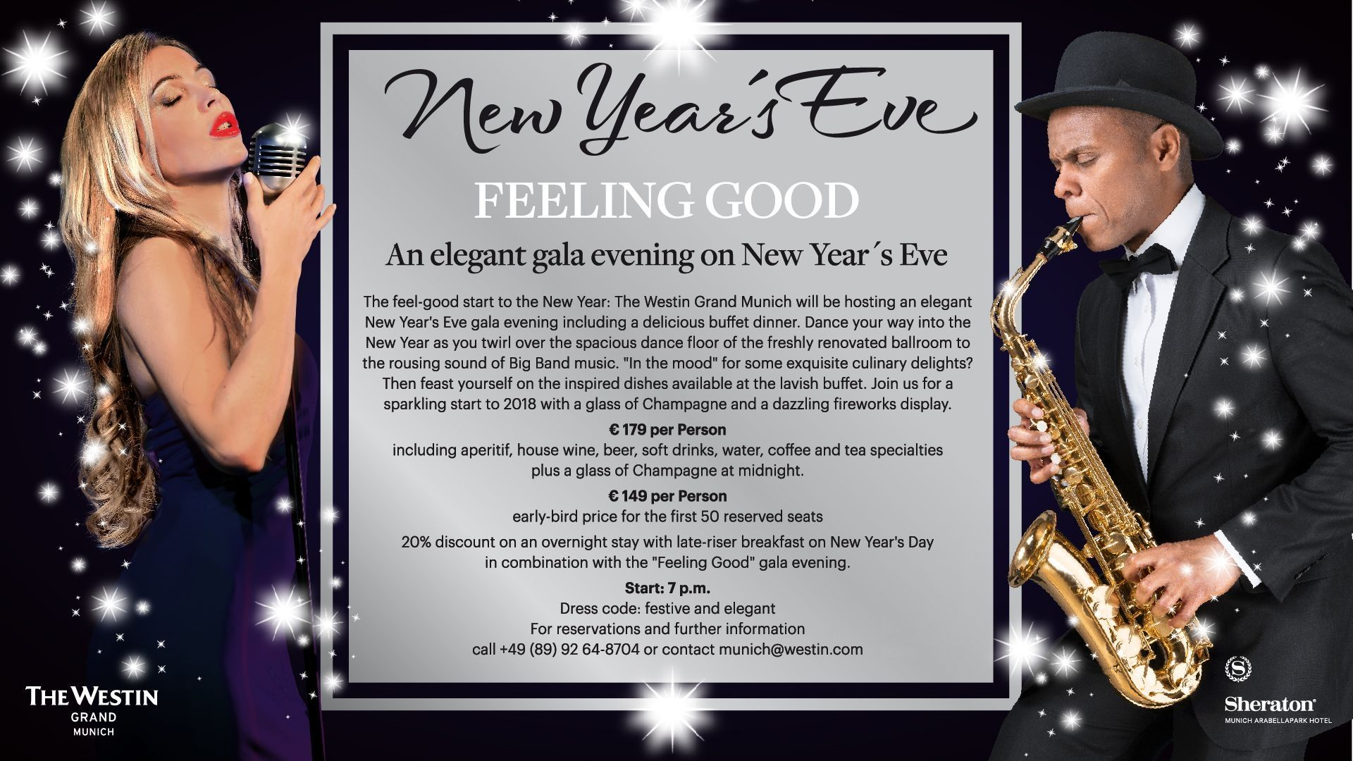 New Year's Eve at The Westin Grand